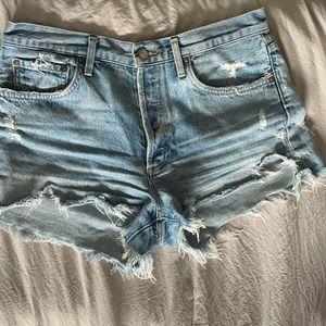 AGOLDE short Parker shorts in swapmeet wash